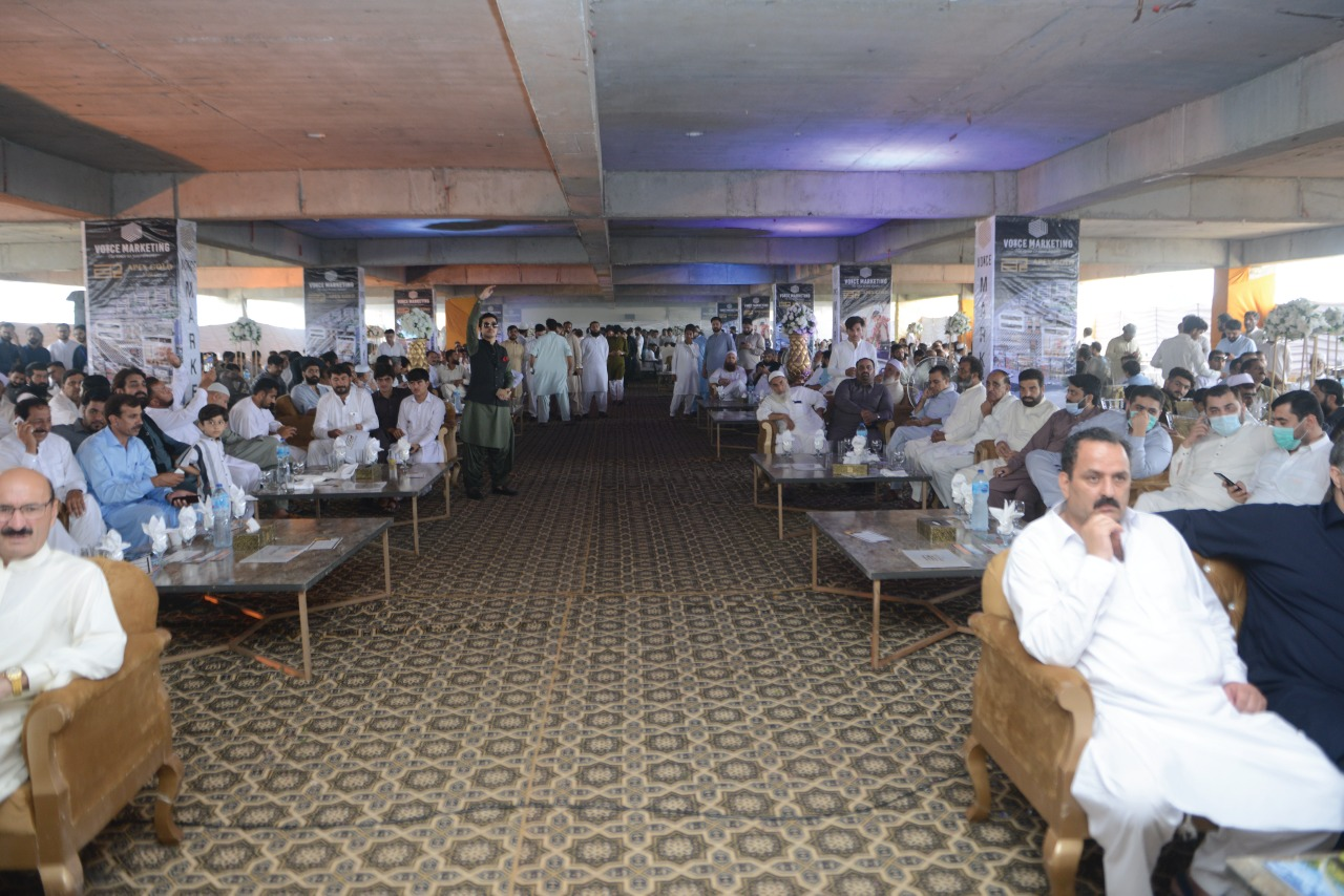Apex Gold Mall Ground Breaking Ceremony Hall Pics