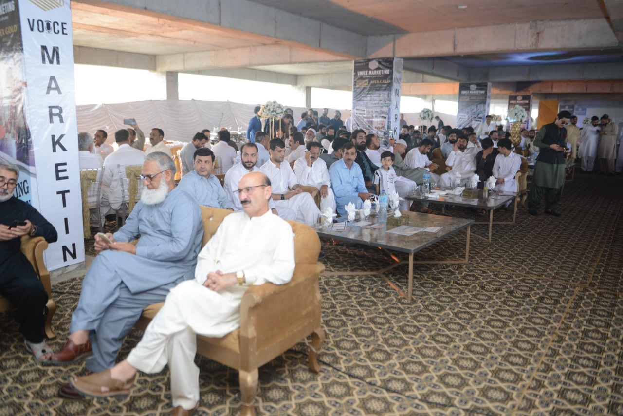Apex Gold Mall Ground Breaking Ceremony full Hall pics